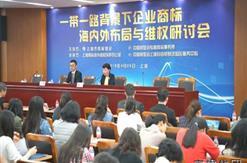 """公司董事长参加上海市商标协会主办的""""一带一路""""背景下企业商标海内外布局与维权研讨会"""