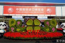 公司员工参观首届中国国际进口博览会