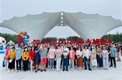 集团工会组织全体员工参加崇明花博会一日游活动